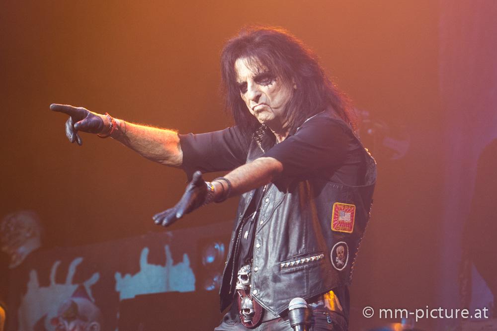 Alice Cooper - Stadthalle Wien 27.11.2017