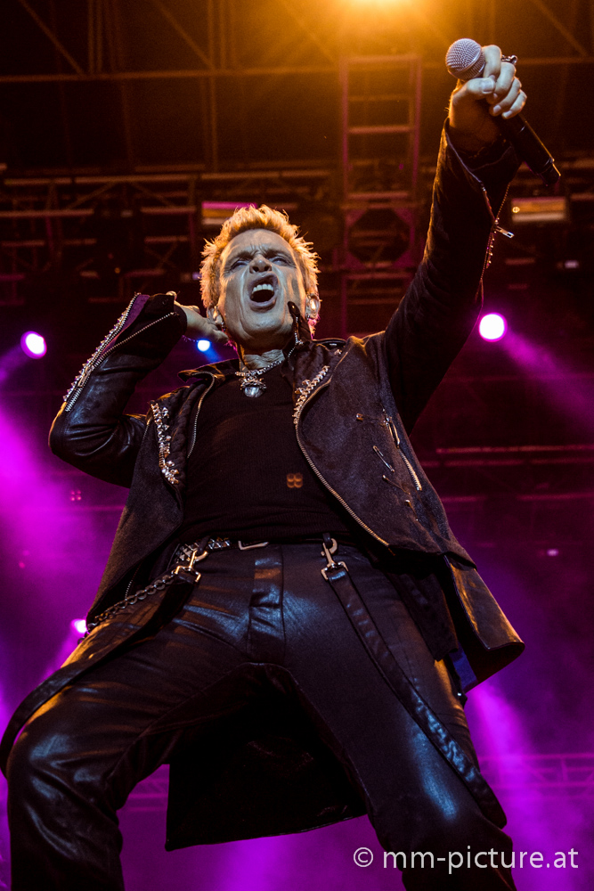 Billy Idol 2014 in Vienna