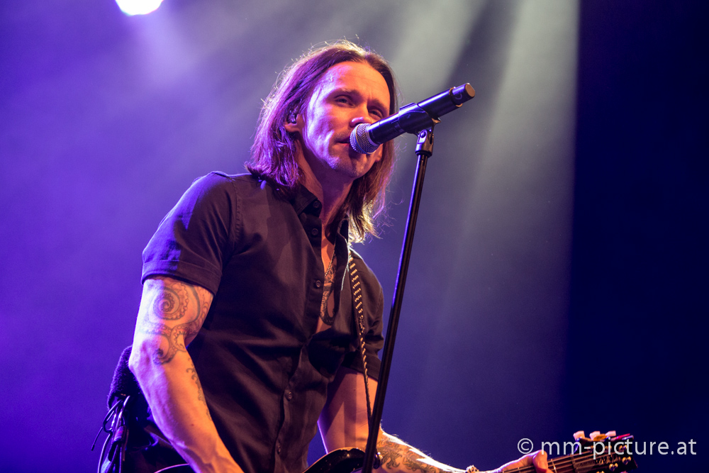 Alter Bridge live im Gasometer Wien | Konzertfotos